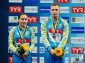 Украинцы Кесарь и Олиферчик выиграли бронзу ЧЕ по прыжкам в воду