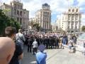 Милиция оцепила польских фанатов в центре Киева