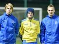 Новички сборной Украины исполнили хиты Руки Вверх и Макса Барских