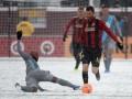 Жаркие фото холодного самого матча MLS