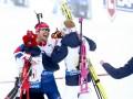 Биатлон: Норвегия делает золотой дубль в эстафетных гонках ЧМ