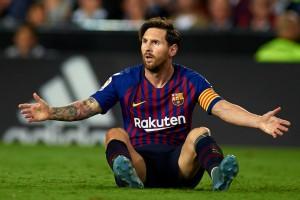 Барселона потеряла очки в четырех матчах Ла Лиги подряд