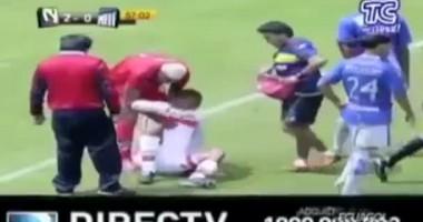 Самый быстрый футбольный доктор в мире