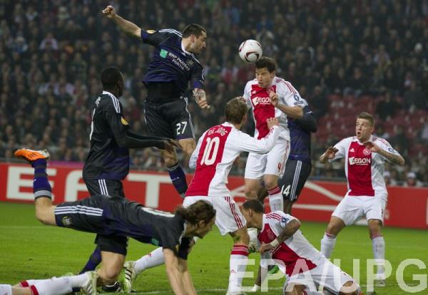 Аякс и Андерлехт могут играть в одной Лиге