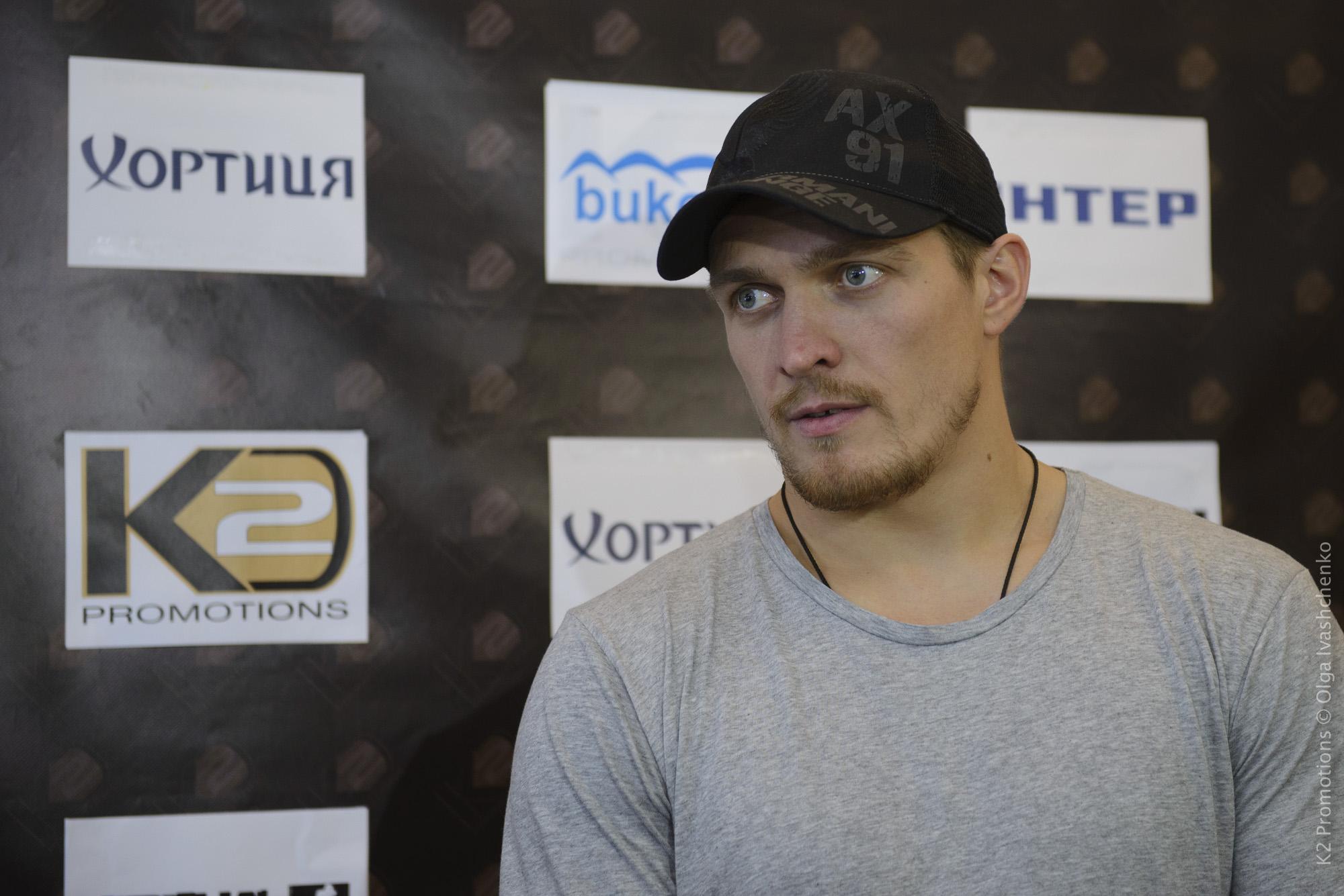 Полное видео выступления Александра Усика в телеэфире