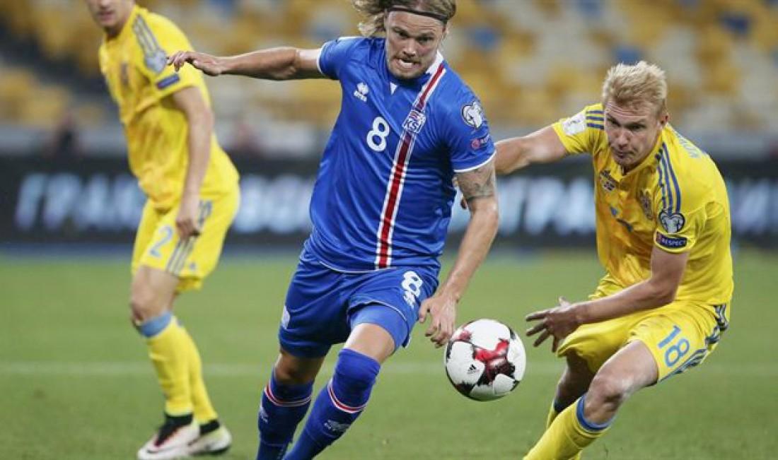 Украина в четвертый раз встретится с Исландией
