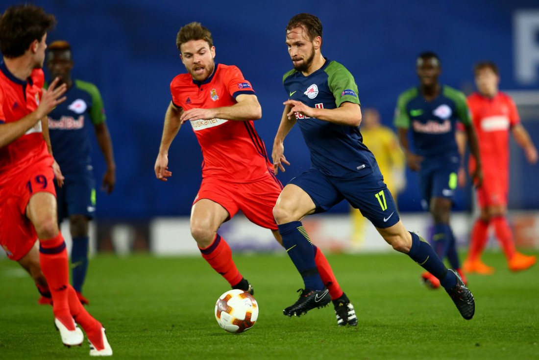 Реал Сосьедад и РБ Зальцбург сыграли в результативную ничью
