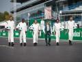 Легенды футбола посоревновались с гонщиками Формулы-1 накануне старта Гран-при Италии