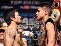 Пакьяо-Варгас: Видео взвешивания боксеров