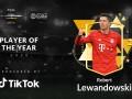 Левандовски - лучший футболист года по версии Globe Soccer Awards
