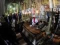 Ближе к Богу: Футболисты Шахтера помолились в храме Гроба Господня (ФОТО)
