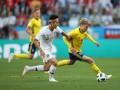 Зрители рекордно долго ждали удара по воротам в матче Швеция – Корея