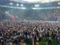 Воины света: Как фанаты Днепра праздновали выход в Лигу чемпионов
