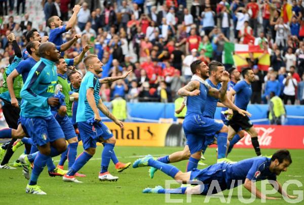 Сборная Италии сыграет с Германией в 1/4 финала Евро