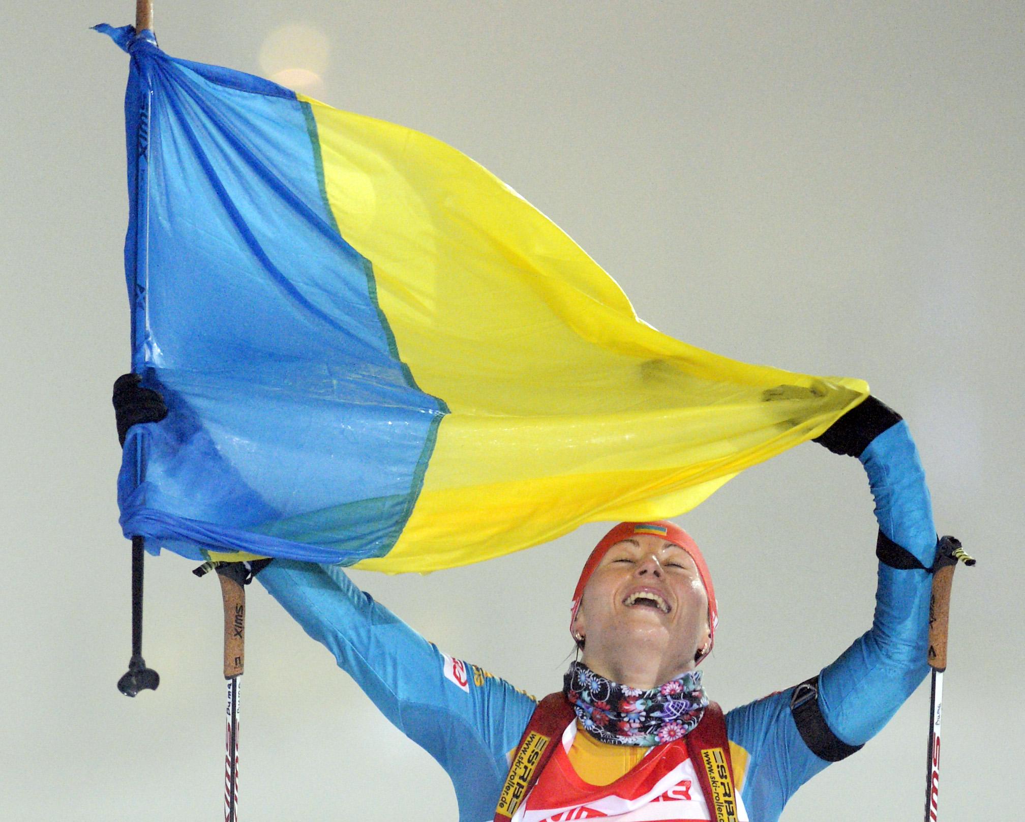 Украинки на ЧМ по биатлону сумели завоевать пять наград
