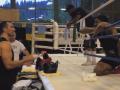 Кличко учит Джошуа боксу: редкие кадры