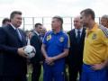 Фотогалерея: Президентское напутствие. Янукович встретился с игроками сборной Украины