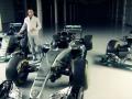 Льюис Хэмилтон презентовал болид Mercedes на новый сезон