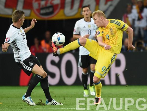 Коваленко в матче с Германией