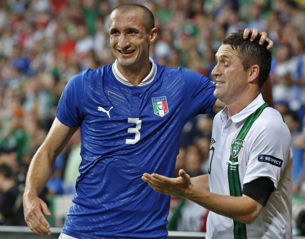 Получится ли у Кьеллини снова сыграть на Евро-2012?