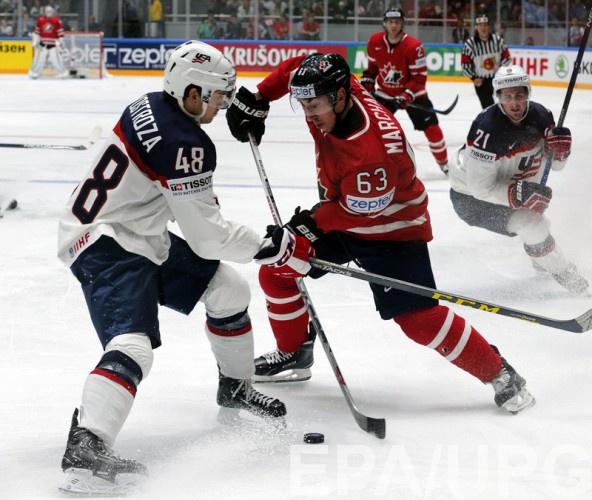 Сборная США не смогла остановить команду Канады