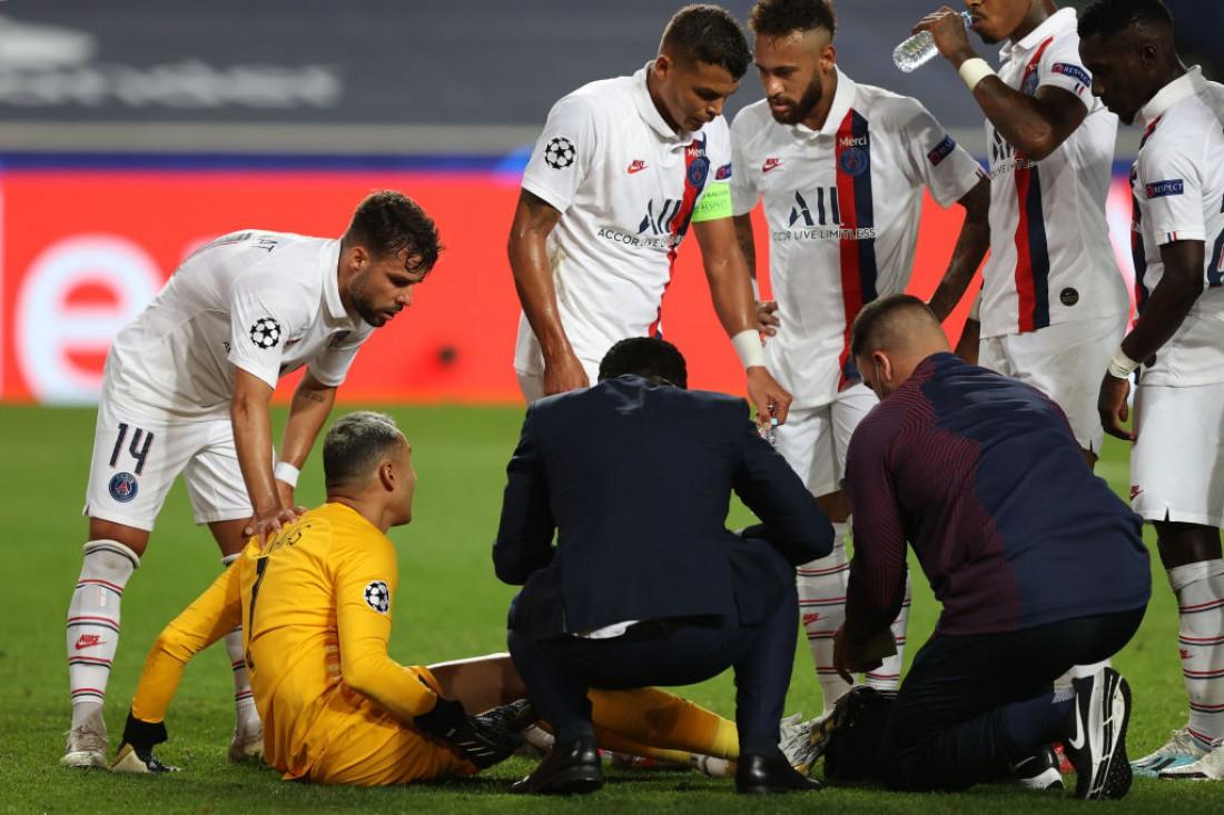Кейлор Навас получил травму в матче против Аталанты