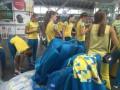 Украинские гимнастки отправились в Рио на Олимпиаду-2016