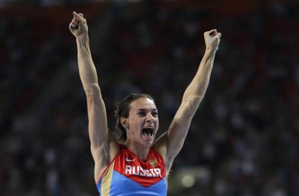 Исинбаева выиграла золото