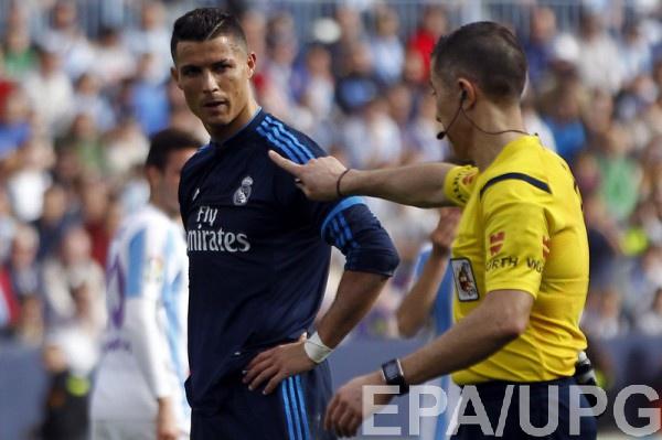 Криштиану Роналду не сумел забить пенальти