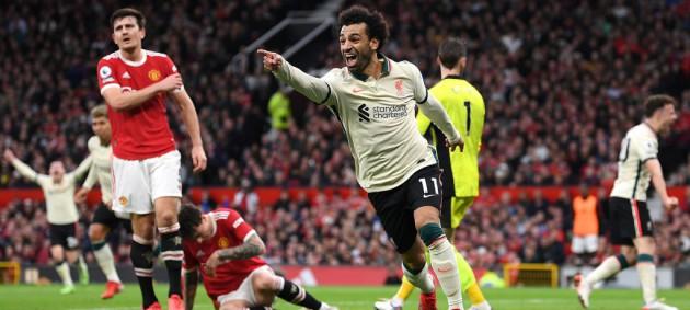 Ливерпуль одержал крупную победу над Манчестер Юнайтед