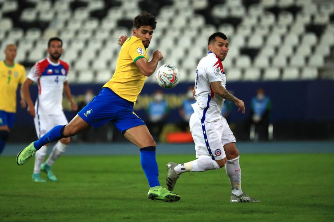 Бразилия - Чили: видео гола и обзор матча