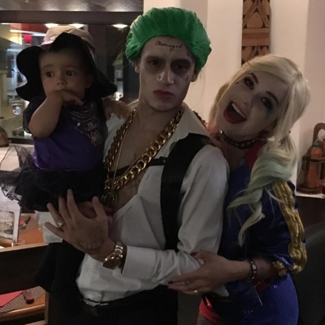Фелиппе Каутиньо с семьей
