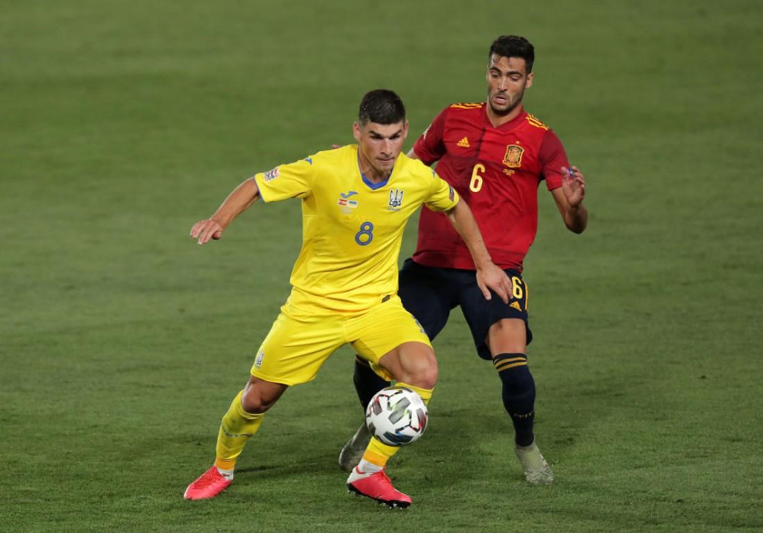 Испания обыграла Украину