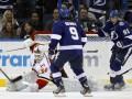NHL: Tampa Bay Lightning в овертайме дожали Calgary Flames