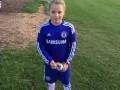 Пошла по стопам отца: Дочь Джона Терри играет за детскую команду Челси (фото)