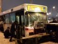 В Казахстане автобус с болельщиками столкнулся с бетономешалкой (фото)