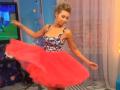 Ведущая телеканала Футбол 1 провела эфир в корсете, подчеркивающем ее грудь