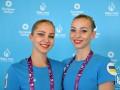 Украинские синхронистки Яхно и Нарежная завоевали бронзу на Европейских играх
