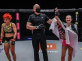 Украинка победила в дебютном бою в ONE Championship