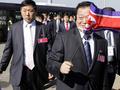 Сборная КНДР вернулась на родину