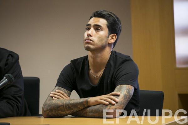 Серхио Араухо во время судебного заседания