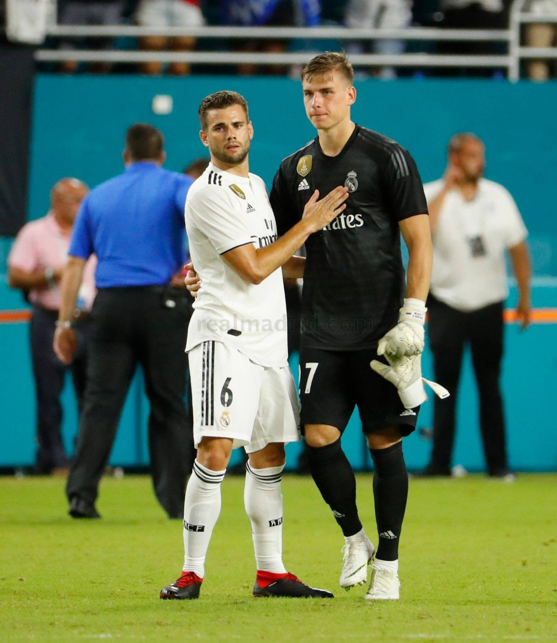Андрей Лунин дебютировал за Реал