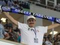 12-й игрок. Как одесские фанаты Черноморец на победу вдохновляли (ФОТО)