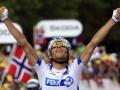 Француз Пино выиграл восьмой этап Тур де Франс