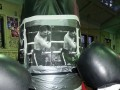 Дженнингс готовится к бою с Владимиром Кличко избивая портрет Виталия