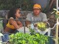 Игрок Лиона весело развлекся со своей женой на яхте