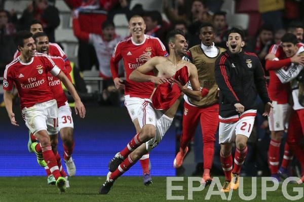 Жонас празднует победный гол в ворота Зенита