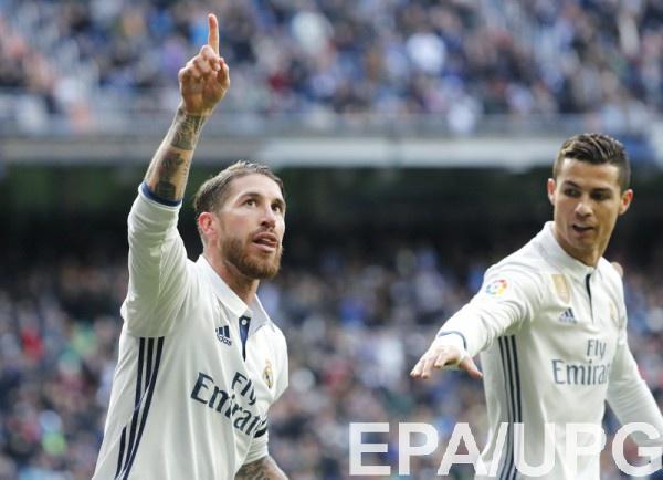 Дубль Рамоса обеспечил «Реалу» победу вигре с«Малагой»