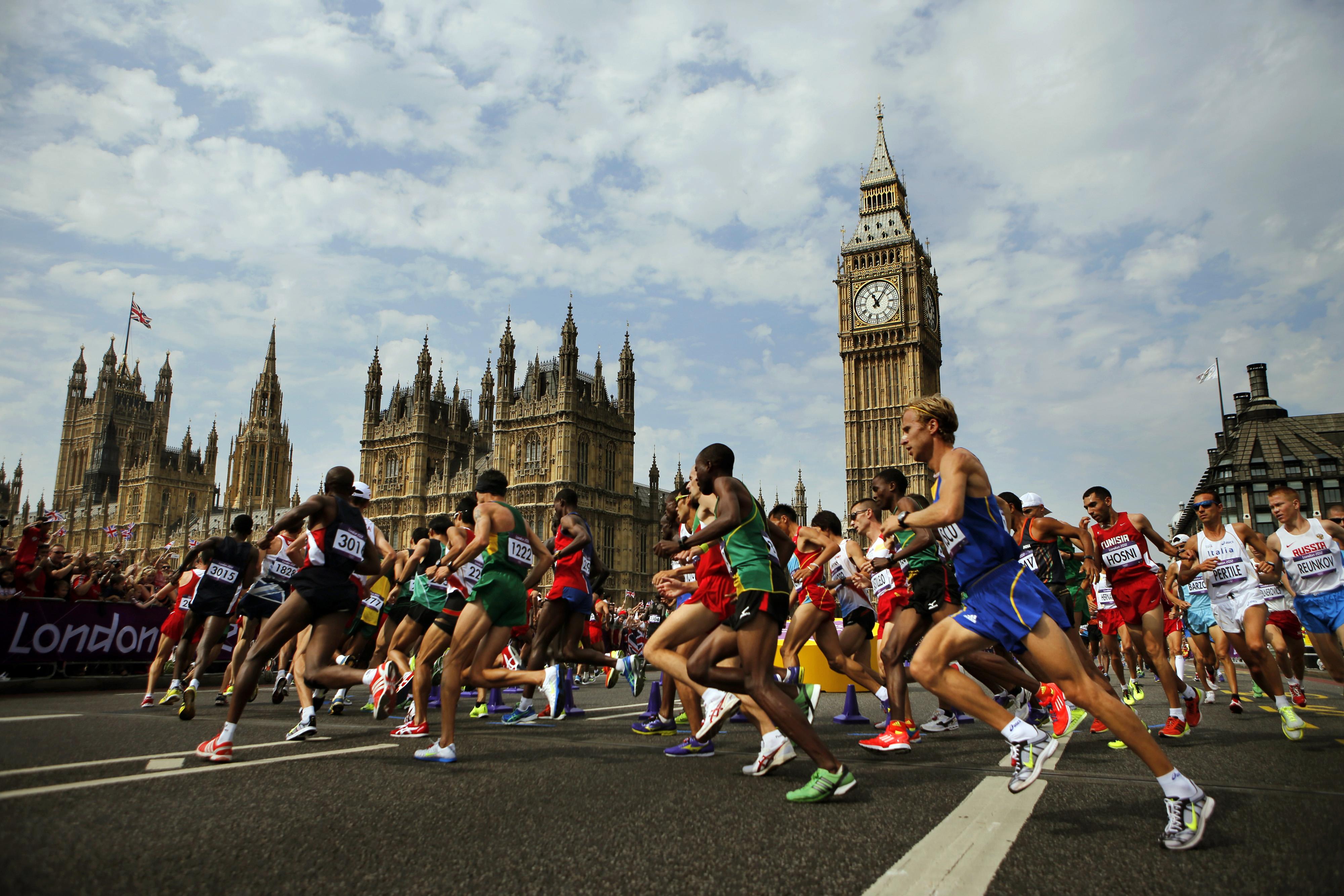На Лондонском марафоне будет увеличена численность полиции