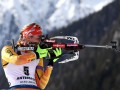 Биатлон: Херрманн победила в спринте, Семеренко в топ-20